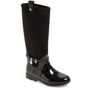MICHAEL Michael Kors Charm Stretch Rainboots,Black